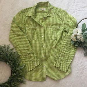 Michael Kors Womens Button Down Shirt